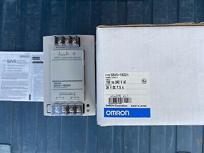 Omron Power Supply S8Vs - 18024