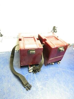 RASCAL 245 Mobility Scooter Battery Boxes/ w Wiring Harness #3112