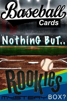 """Baseball Cards """"Nothing BuT ROOKIES"""" 50 Card Lot + PSA Graded Chase Rookie Card"""