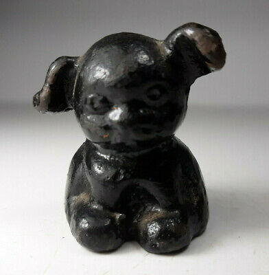Vintage HINES Pup, Cast Iron Paper Weight, Advertising