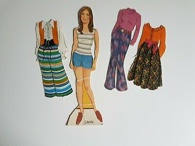 Laurie Partridge Family Paper Doll Set Vintage