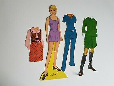 Mother Partridge Family Paper Doll Set Vintage