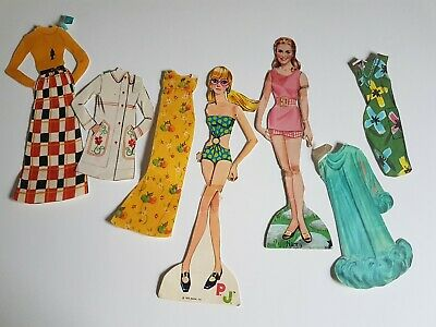 Nanny and the professor and Mattel 1970 PJ Paper Doll Set Vintage