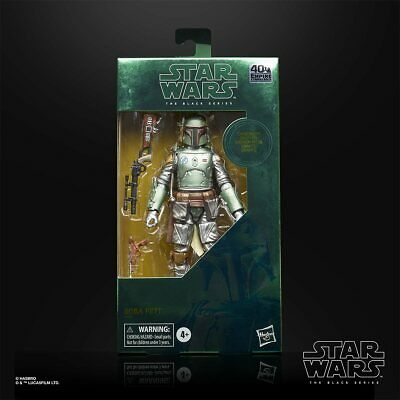 Star Wars Black Series 40TH Anniversary Carbonized Boba Fett PRE-ORDER