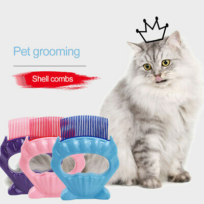 Handle Shedding Pet Dog Cat Hair Brush Fur Grooming Trimmer Knot Open Comb New