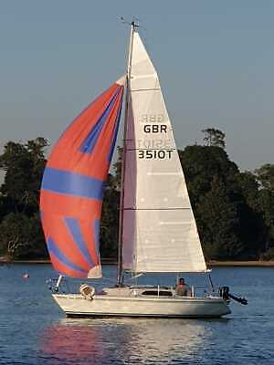 Excellent condition sailing yacht Conrad 760 boat 5 berth updated spec today