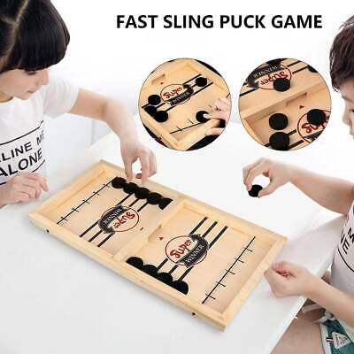 Kids Children Family Games Toys Fast Sling Puck Game Paced Winner Board Juego