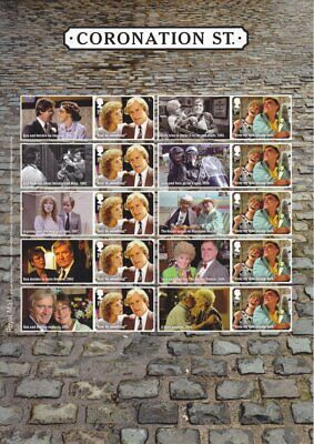GB 2020  ** NEW ** Coronation Street Generic Smilers Sheet - GS-125/LS-123