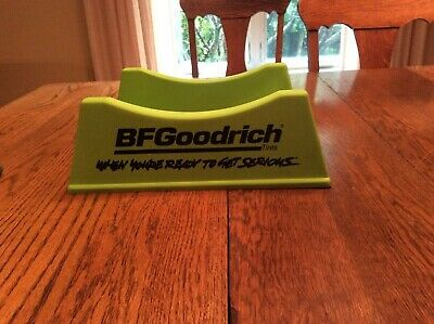 COMPLETE BF GOODRICH SIGN LIME TIRE STAND PLASTIC ORIGINAL Gas and Oil