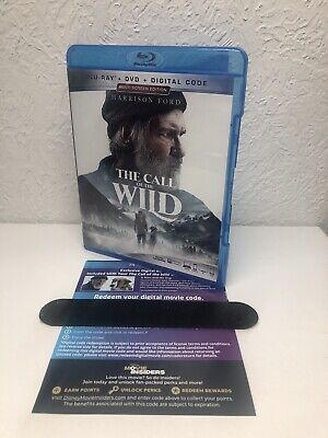 CALL OF THE WILD 2020 Blu Ray + Digital (NO DVD INCLUDED) Harrison Ford