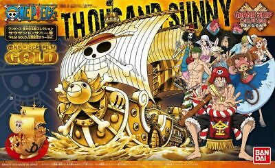 Bandai One Piece Thousand Sunny Gold Ver. Great Ship Collection Model Kit USA