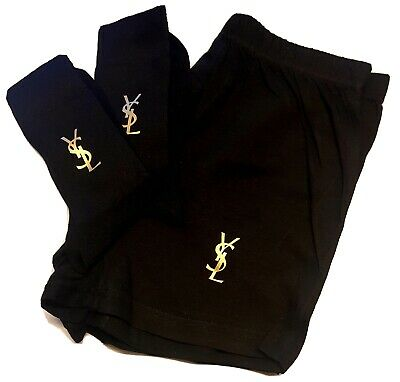 YSL Themed Mens Boxer Short & Socks Set!! Gold, Silver or Grey Camouflage!!