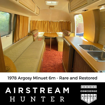 1978 Argosy Minuet 6m - Rare and Restored - Ready to Camp