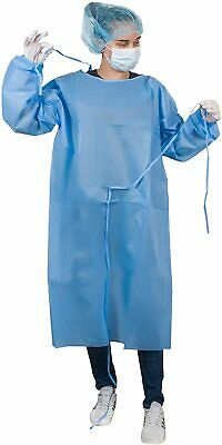 1 High Quality Isolation Gowns Impervious  thick PP+PE Cover Level 3 USA Stock