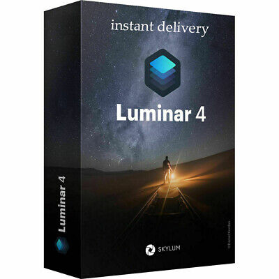 Luminar v4 Photo Editor 2020 Full Version Life Time for Windows Fast delivery