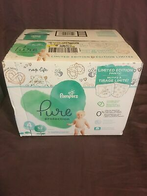 Pampers Pure Protection #4 22-37 Lb 52 Count