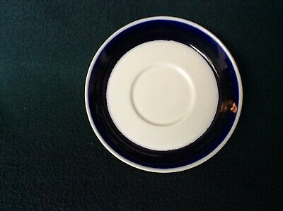 "Arabia Finland ""sotka"" tea cup SAUCERS - 2 per set; EXCELLENT CONDITION"