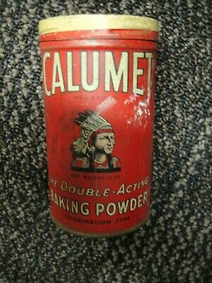 Vintage Calumet Baking Powder Advertising Great Condition Original Patina 588-F