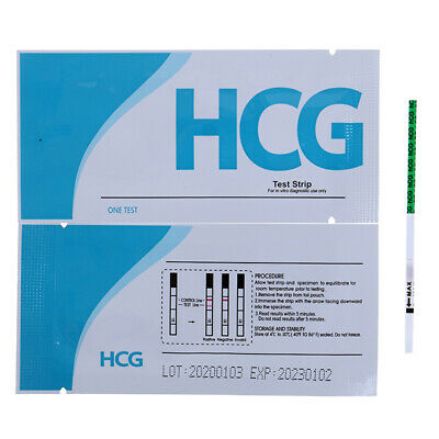 Pregnancy Test Strips ULTRA EARLY 10mIU HCG Urine Testing Kits One Step ON