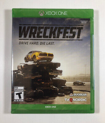 WRECKFEST Xbox One (2019) - Brand New - Fast Free Shipping