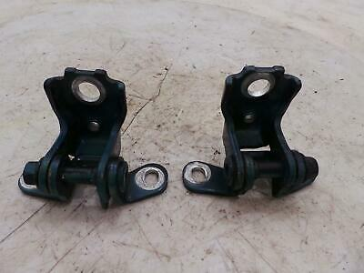 2013 Skoda Fabia Mk2 Pair Left Upper & Lower Blue Door Hinges