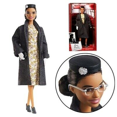 Rosa Parks Barbie Doll Inspiring Women Collection 2019 Brand New sealed