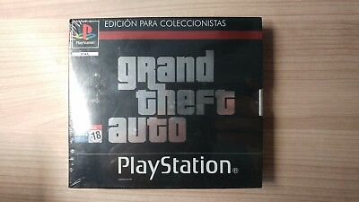 Grand Theft Auto 1 2 3 Gta Ps1 Playstation 1 Psx New Novo Neuf Nuovo Sealed