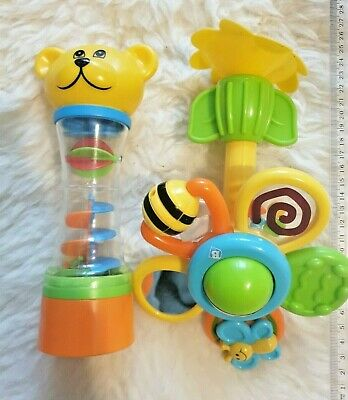 Suction Car Toy And Rainmaker Babies Nursery Educational