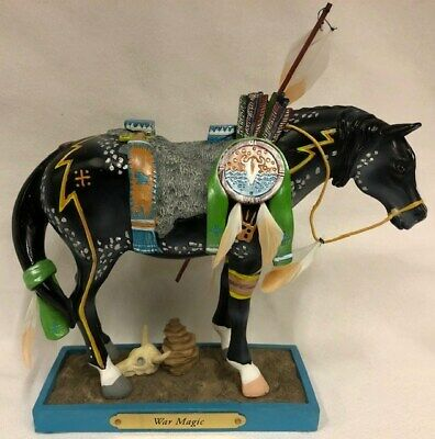 The Trail of Painted Ponies War Magic Figurine edition number 1E/0951