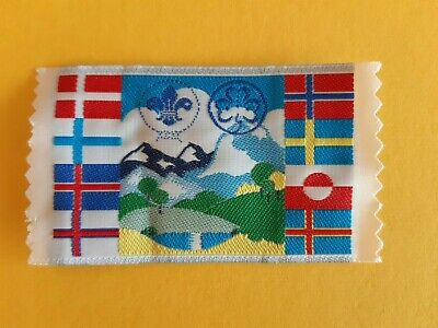in413  INSIGNE  SCOUTS SCANDINAVIAN SUEDE FINLAND NORWAY  SCOUTING BADGE SCOUT