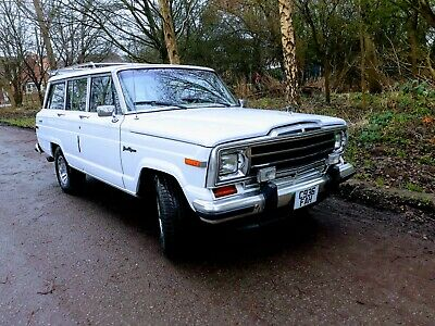 Jeep Grand Wagoneer with LPG conversion.
