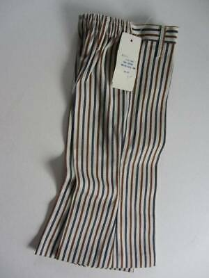 vintage NWT's 70's lightly flared pin stripe jeans hippie age 2
