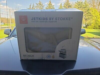 Stokke JetKids BedBox Ride On Suitcase, 11.11 x 7.87 x 14.17in