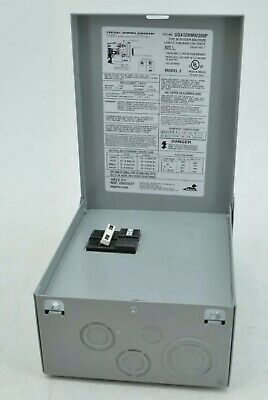 Midwest Electric Products 60 Amp GFI Spa Disconnect Panel UG412RMW260P *NEW*