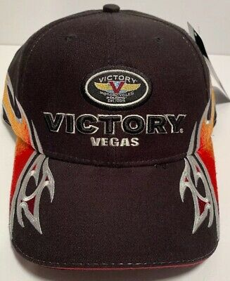 Victory Motorcycle Vegas Hat - Brand New