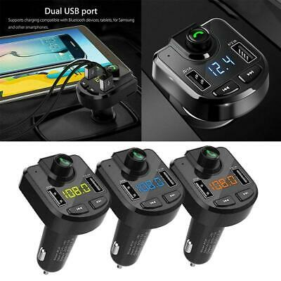 Bluetooth Car Set FM Transmitter MP3 Radio Player USB Charger Wireless Handsfree