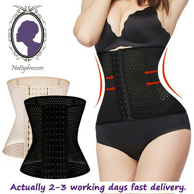 Slimming Body Waist Shaper Training Trainer Tummy Cincher Girdle Corset XS - 5XL