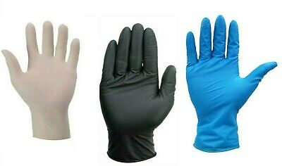 Quality Powder Free Latex Free Nitrile Disposable Gloves - 3 Lucky Dip Colours