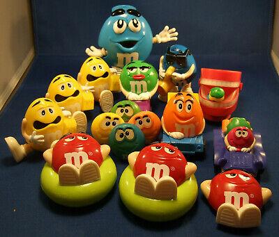 Vintage Burger King M&M Toy Lot of 13 Figures
