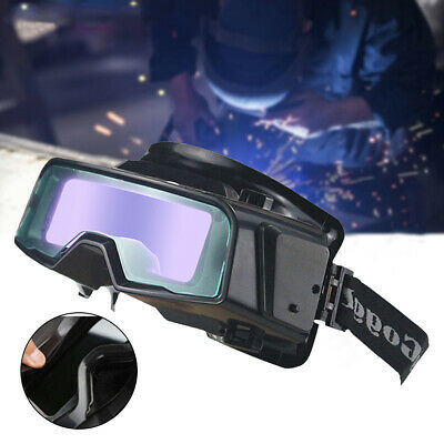 Safety Mask Welding Goggle Anti-Glare Auto Darkening Professional Eye Protection