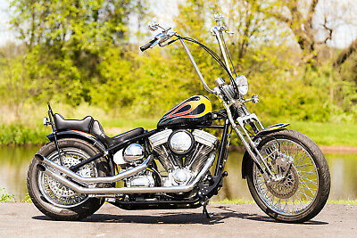 2012 American Classic Motors Chopper  2012 American Classic Motors Custom Rigid Springer Chopper Bobber 2,407 Miles!