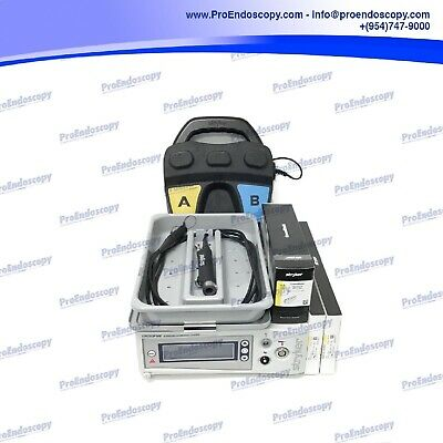 Stryker 475-000-000 Shaver Console w/ 375-701-500 shaver, 475-000-100 Footswitch