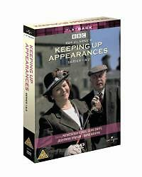 Keeping Up Appearances - Series 1 And 2 (DVD, 2003, 3-Disc Set, Box Set)