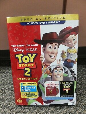 Disney Toy Story 2 - Special Edition, Includes DVD + Blu-ray
