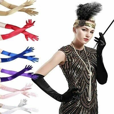 New Women Satin Arm Hand Long Sleeve / Gloves Evening Party Opera Wedding Gloves