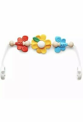 BabyBjorn Toy For Bouncer Flying Friends For Bouncer, Multi Flowers New