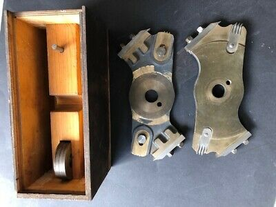 Rare Vintage Wadkin Machinery Trenching Cutterblock Head Radial Arm Saw Spindle