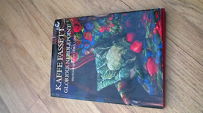 Vintage Kaffe Fassett Glorious Needlepoint book. Inspirational patterns to use