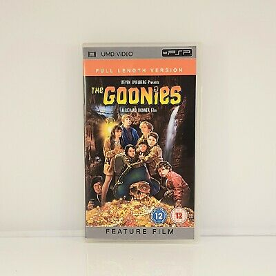 The Goonies PSP UMD Movie Complete with Box Steven Spielberg Classic Film