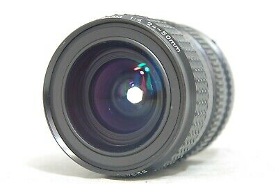 SMC Pentax-A 24-50mm F/4 MF Zoom Lens SN5234975 from Japan *As-Is*